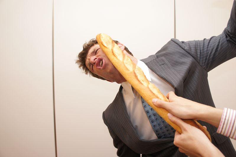硬い フランスパン