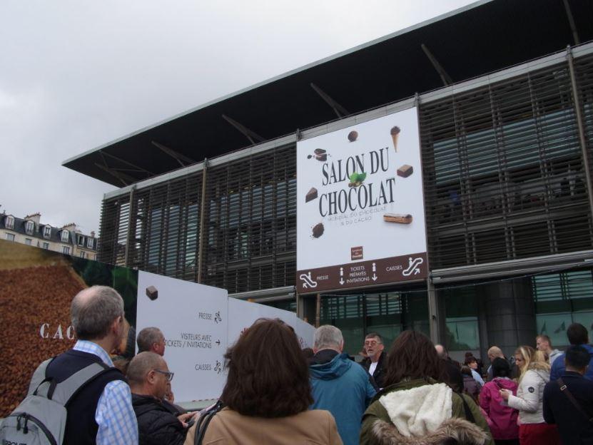サロンドショコラ2016パリ